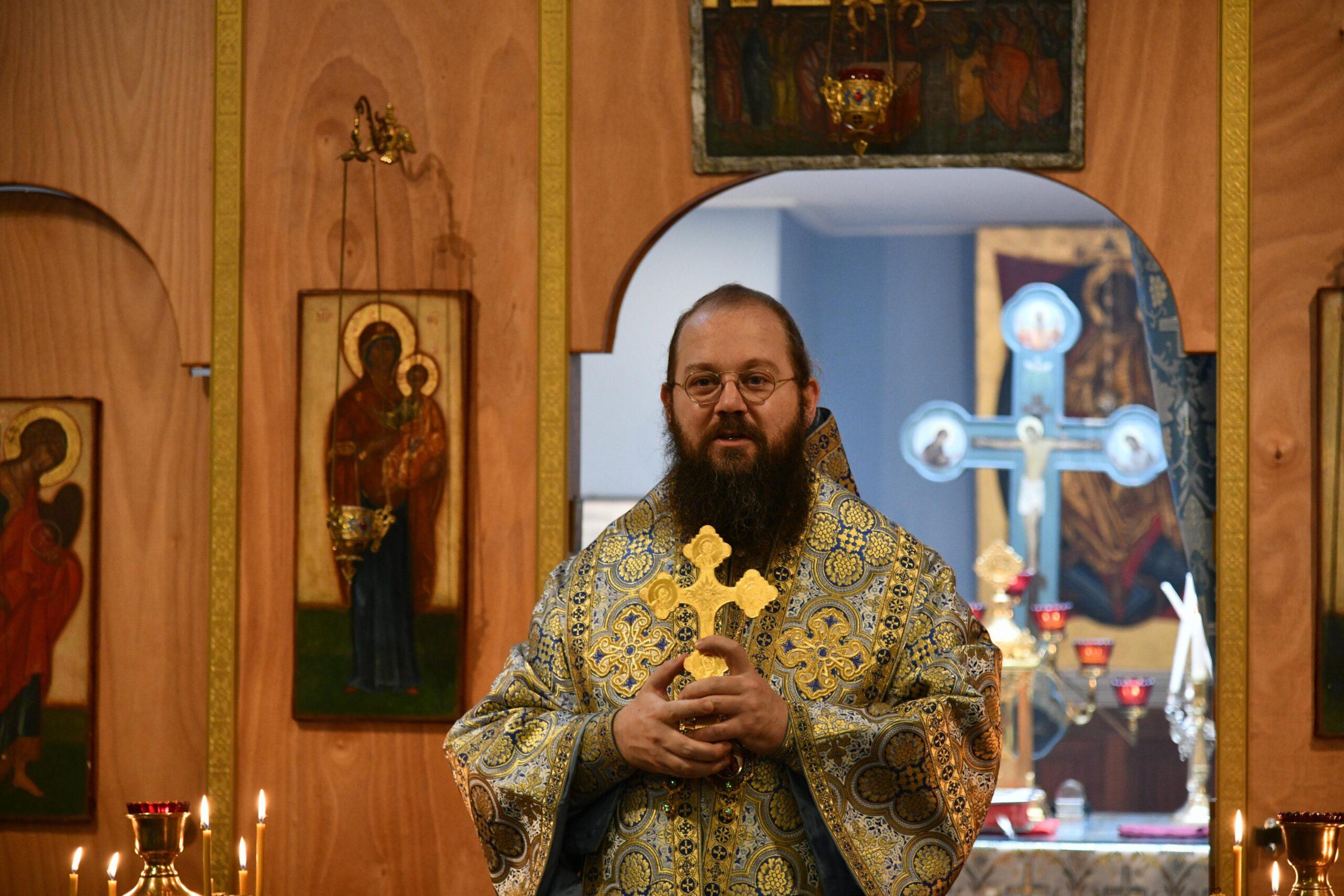 Preek op de feestdag van de Beschermende Sluier van de Moeder Gods door bisschop Irenei van Londen en West-Europa