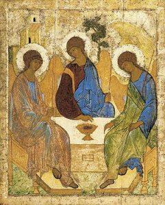 Андрей Рублёв, «Троица», 1411 г. или 1425-27